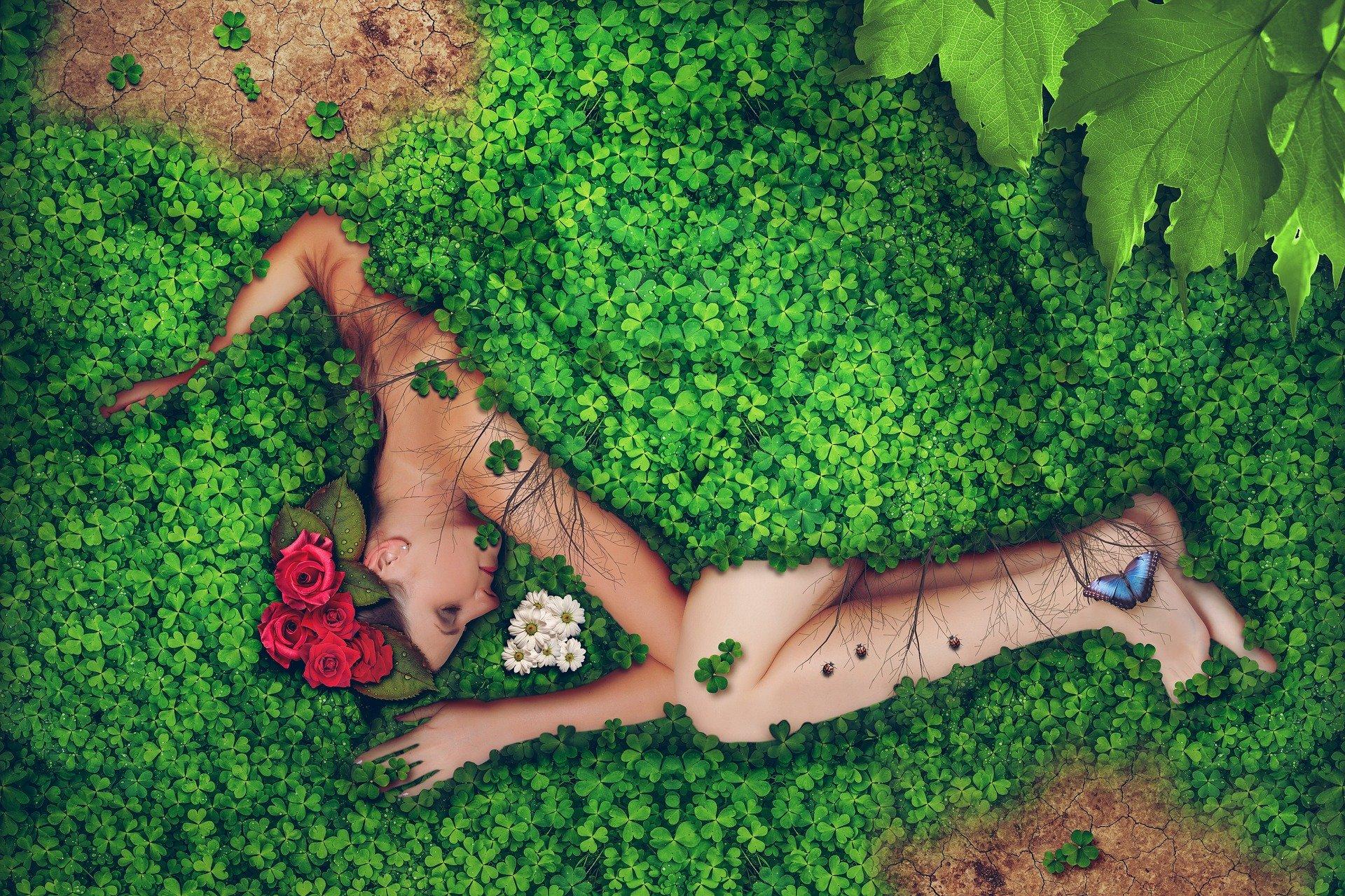 femme et nature