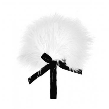 petit plumeau blanc