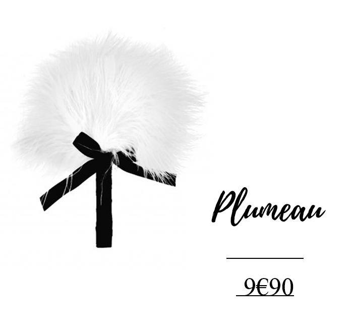 plumeau blanc